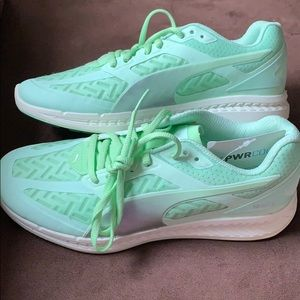 Puma Shoes - NWOB - PUMA - Green Sneakers, women's 7